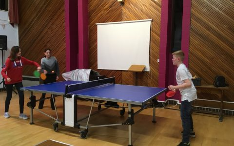 Chillax table tennis